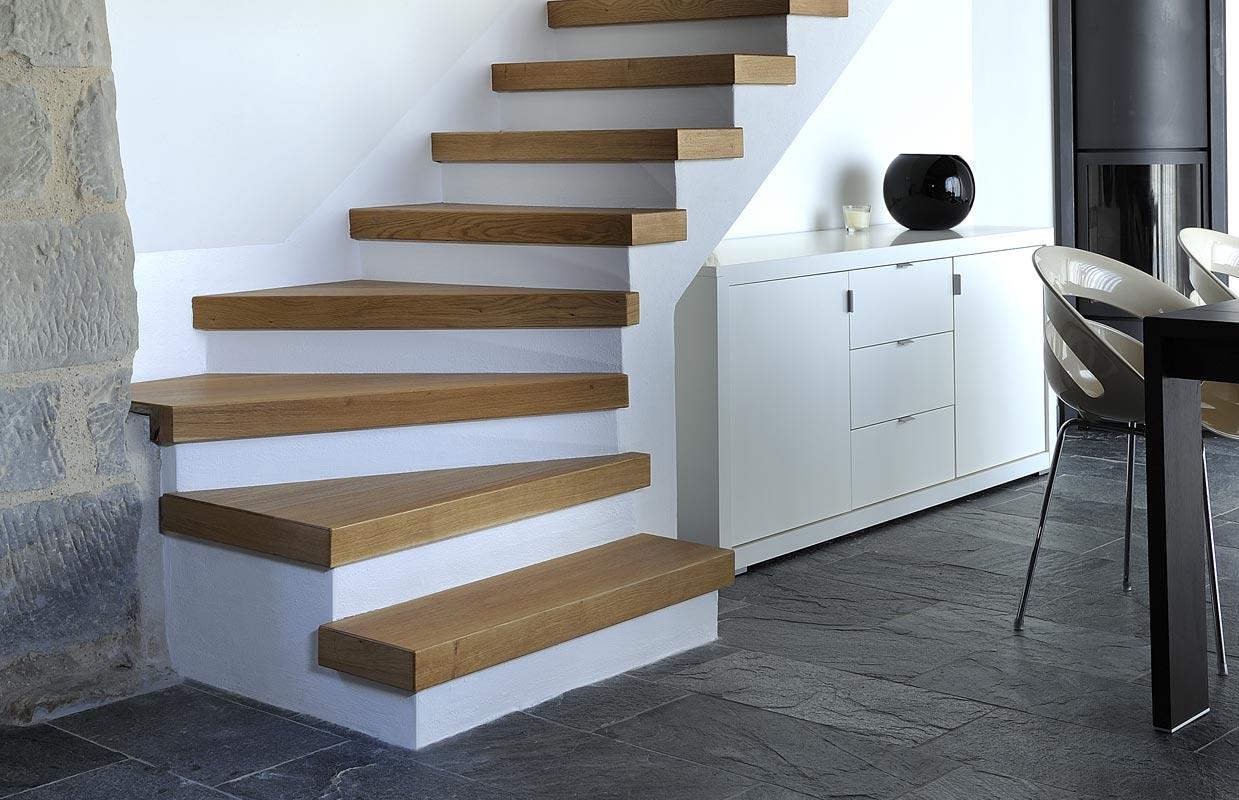 Pozzebon scale in legno a conegliano pieve di soligo - Scale autoportanti in legno ...